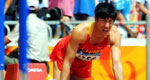 北京奥运刘翔因伤退赛