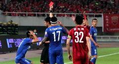 上海申花三人染红惨败 上海上港5-0胜8人申花
