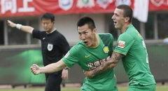 周挺朴成进球 北京国安客场2-1逆转亚泰