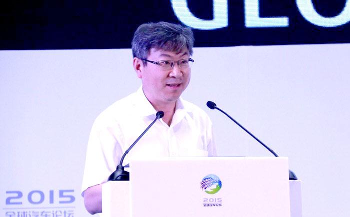 奇瑞汽车董事长兼总经理尹同跃