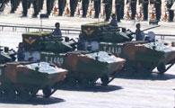 03式空降兵战车方队