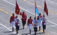 斐济代表团方队