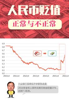 人民币贬值