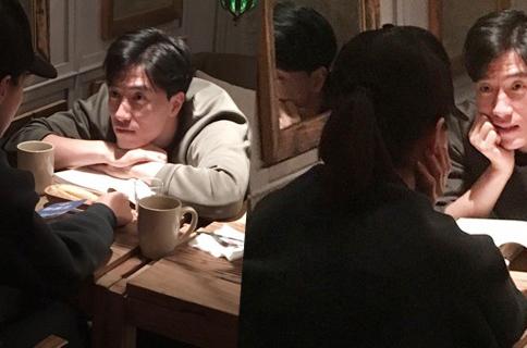 刘翔罗莎甜蜜约会 刘翔一脸深情