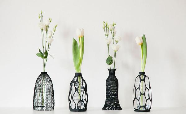 3D打印的外壳花瓶