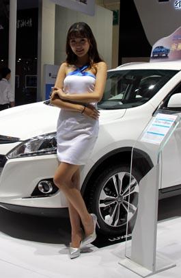 201昆明国际车展模特