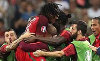 波兰1-1(点球3-5)葡萄牙
