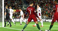 世预赛-葡萄牙4-1 C罗梅开二度