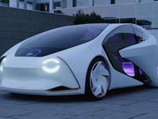 亮相CES的丰田概念车Concept-i