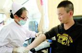学生打工被骗日抽11次血