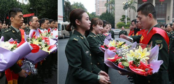 中国援助赞比亚军医组春节前启程 她们来送别!