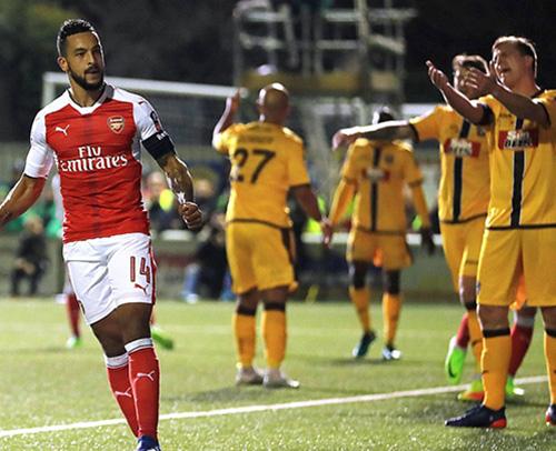 足总杯-佩雷斯沃尔科特破门 阿森纳2-0晋级八强
