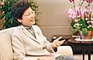 林郑月娥当选香港特首