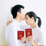吴敏霞与男友甜蜜领证