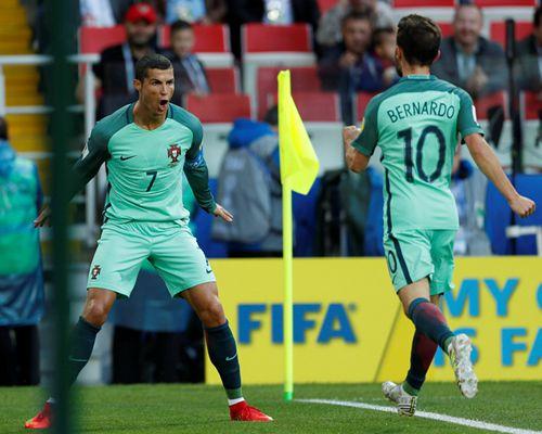 联合会杯-C罗头槌破门 葡萄牙1-0俄罗斯迎首胜
