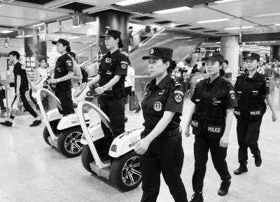厉害了!全国首支地铁警方女子巡防中队亮相南京