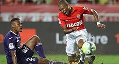 法甲-摩纳哥3-2 姆巴佩伤退