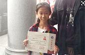 10岁女孩考352分上大专