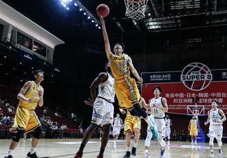 超级8篮球赛-胡金秋18+8 广厦赢球进决赛