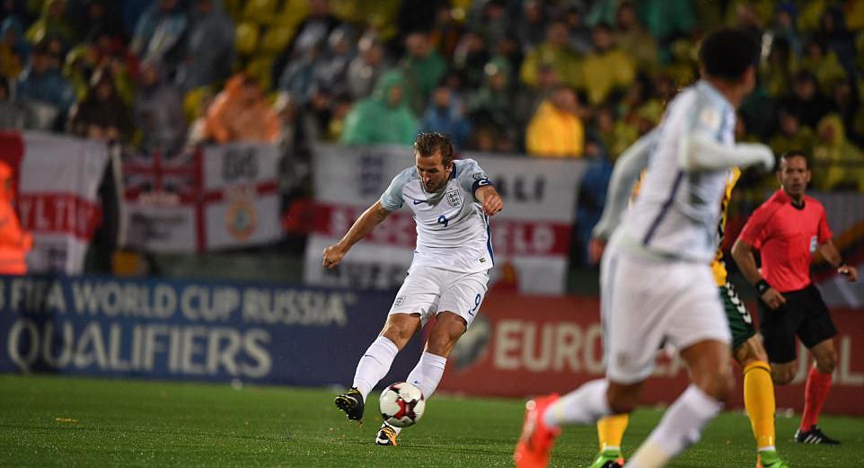 世预赛-英格兰1-0 凯恩破门