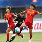亚洲杯-U19女足2-0泰国