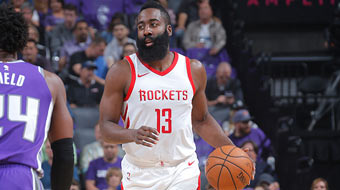 NBA-火箭胜国王 哈登推进显沉着