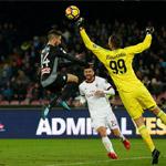 因西涅破门苏索伤退 AC米兰1-2客负那不勒斯