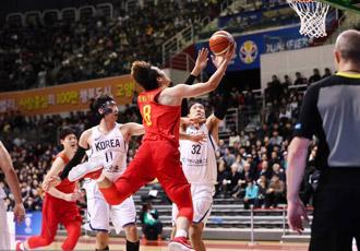 世预赛小丁30+6 男篮92-81力擒韩国