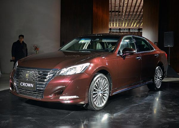 48-39.18万元 丰田新款皇冠正式上市