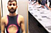 男子穿女泳衣偷53部手机