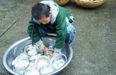 小学生被迫帮老师洗碗
