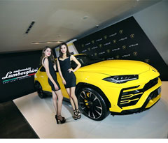 313万!全球最快SUV Urus首秀重庆