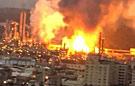 台湾桃园炼油厂发生爆炸