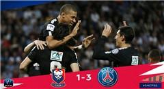 法国杯-姆巴佩梅开二度 巴黎3-1进决赛