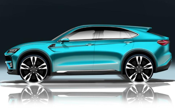 6月6日亮相 北汽幻速将推全新中大型SUV