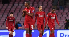 欧冠-利物浦0-1 红军众将垂头显失落